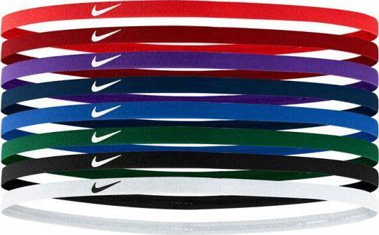 Nike Nike Skinny Hairbands 8-pak opaski na włosy 644 1