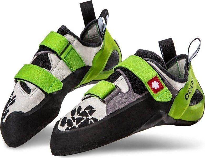 Ocun Buty wspinaczkowe Ocun Jett QC - grey/green 43 1