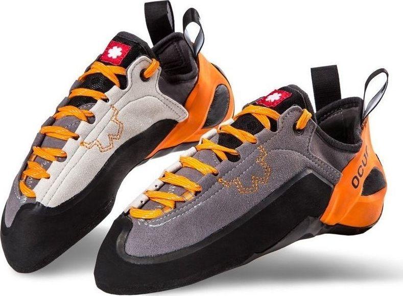 Ocun Buty wspinaczkowe Ocun Jett LU - grey/orange 37.5 1