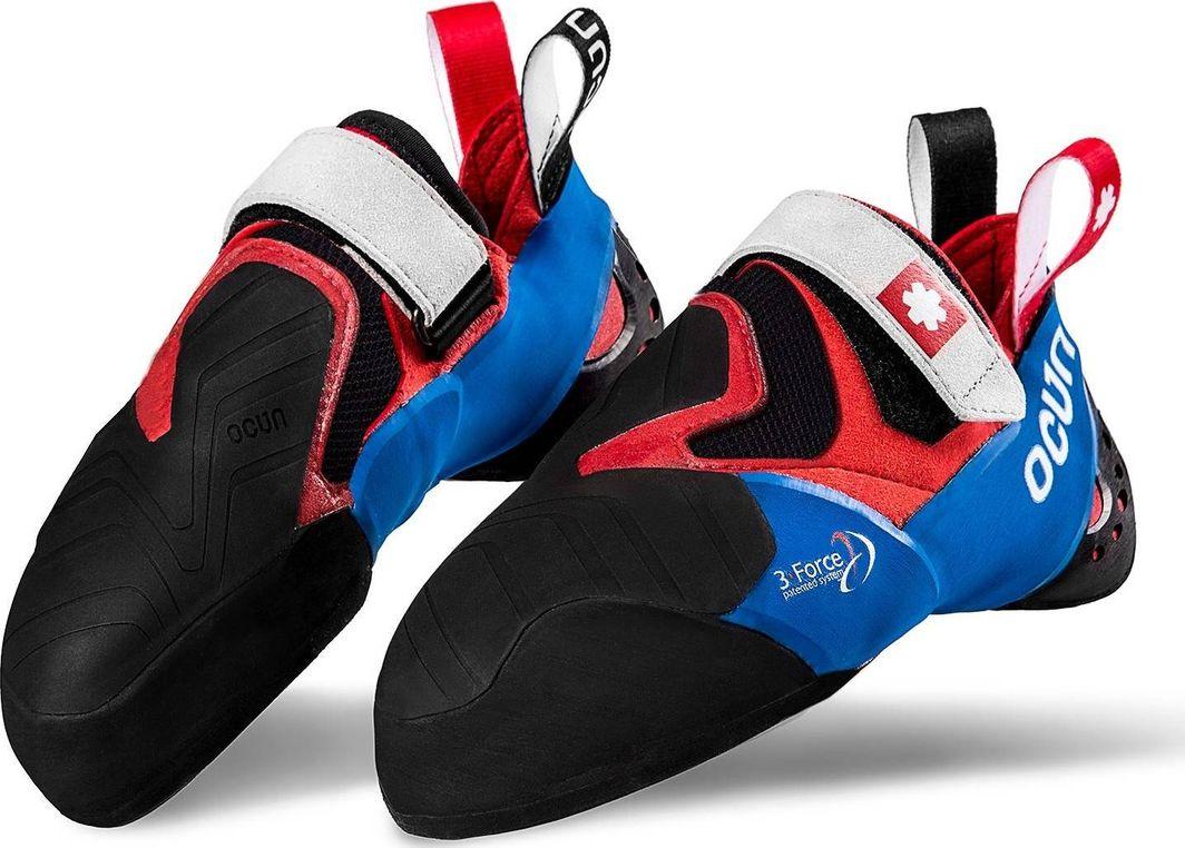 Ocun Buty wspinaczkowe Ocun Nitro - red/blue 38.5 1