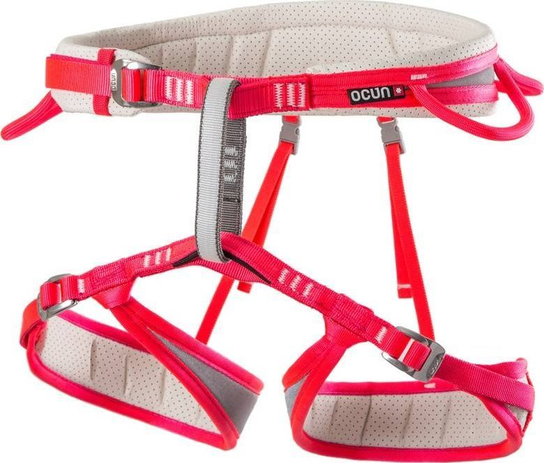 Ocun Damska uprząż wspinaczkowa Neon 3 - pink r. L (74574) 1
