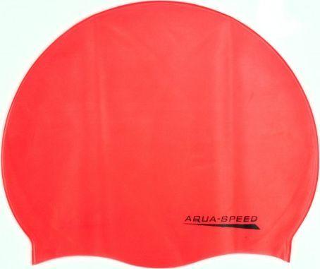 Aqua-Speed Czepek pływacki z silikonu MONO pamarańczowy Aqua-Speed 1