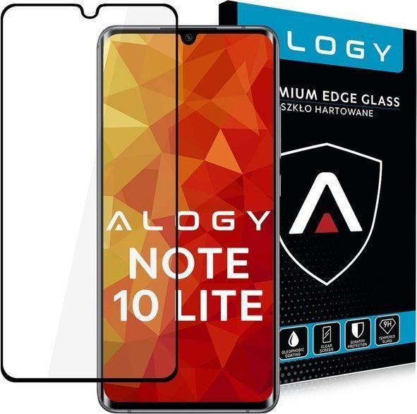 Alogy Alogy Szkło na telefon CF Full Glue do Xiaomi Mi Note 10 Lite czarne uniwersalny 1