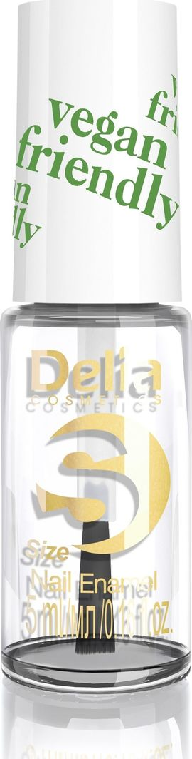Delia Delia Cosmetics Vegan Friendly Emalia do paznokci Size S nr 200 Innocent 5ml 1