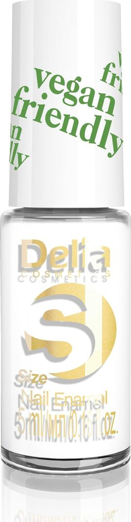 Delia Delia Cosmetics Vegan Friendly Emalia do paznokci Size S nr 201 Plan B 5ml 1