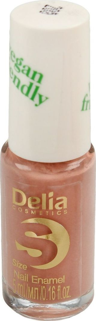 Delia Delia Cosmetics Vegan Friendly Emalia do paznokci Size S nr 208 Tea Rose 5ml 1