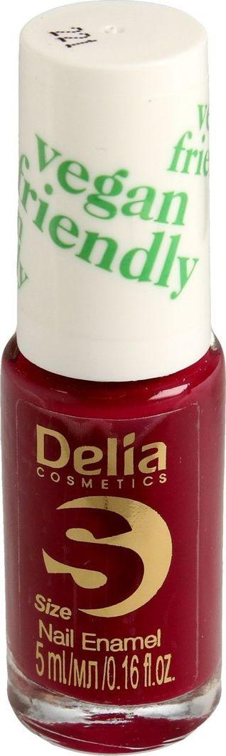 Delia Delia Cosmetics Vegan Friendly Emalia do paznokci Size S nr 221 Sweet Plum 5ml 1