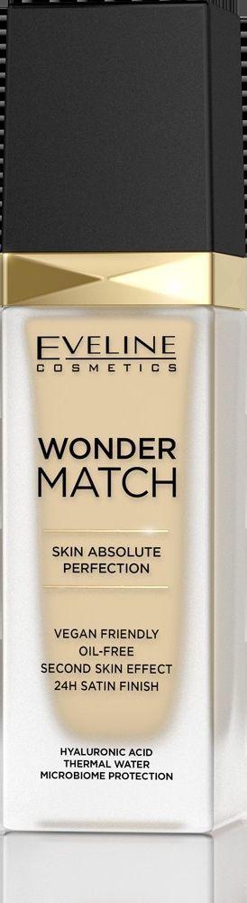 Eveline Eveline Wonder Match Podkład dopasowujący się do cery nr 05 Light Porcellain 30ml 1