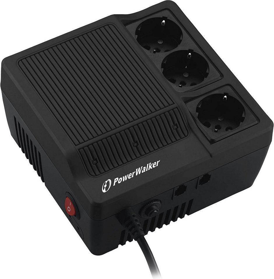PowerWalker Stabilizator napięcia AVR 1000VA 3 x Schuko (220/230/240V) (AVR1000) 1