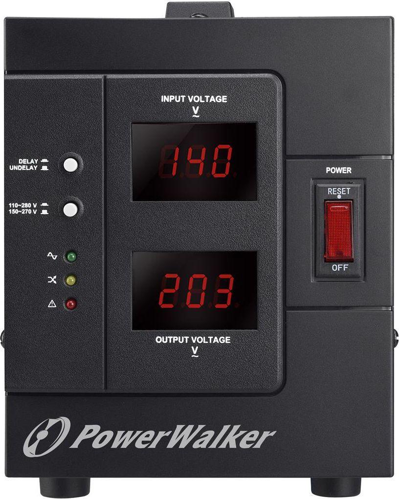 PowerWalker Stabilizator napięcia AVR 2000VA SIV FR 1