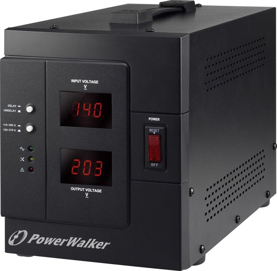 PowerWalker Stabilizator napięcia AVR 3000VA SIV FR 1