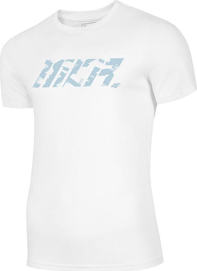 4f T-Shirt 4F H4Z20-TSM032 10S H4Z20-TSM032 10S biały S 1
