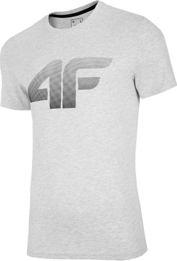 4f T-Shirt 4F NOSH4-TSM004 27M NOSH4-TSM004 27M szary XXXL 1