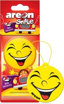 Areon AREON_Smile Dry odświeżacz do samochodu No Smoking 1