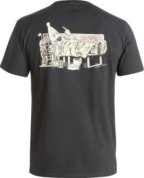 DC Shoes T-Shirt DC Shoes Cliver Banana Ss ADYZT03398KTE0 M 1