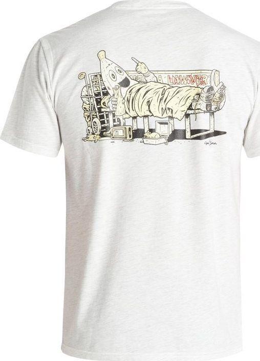 DC Shoes T-Shirt DC Shoes Cliver Banana Ss ADYZT03398WBKH XL 1