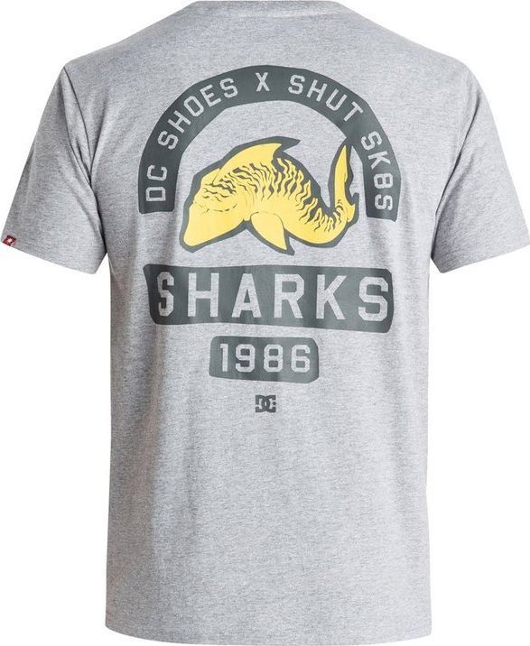 DC Shoes T-Shirt DC Shoes Sharks 86 Ss EDYZT03319KNFH S 1