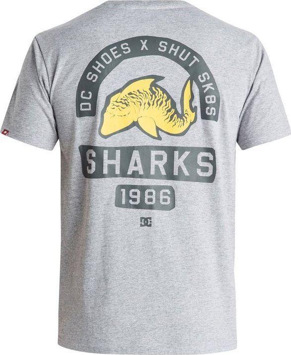 DC Shoes T-Shirt DC Shoes Sharks 86 Ss EDYZT03319KNFH M 1