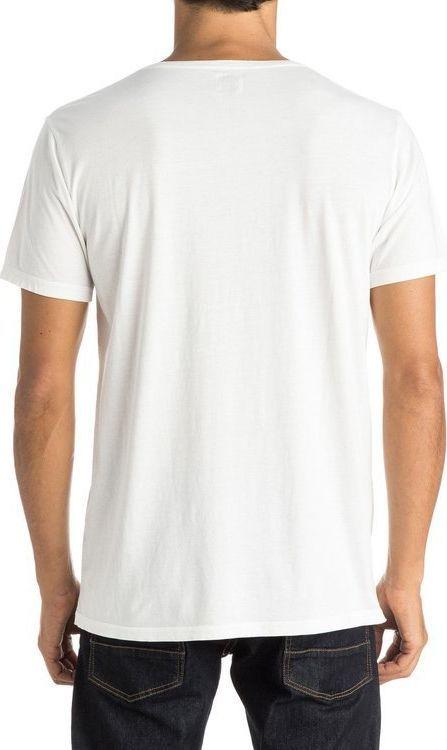 Quiksilver Koszulka męska Garment Dyed Sunset Tunels Id biała r. M (UQYZT03588) 1