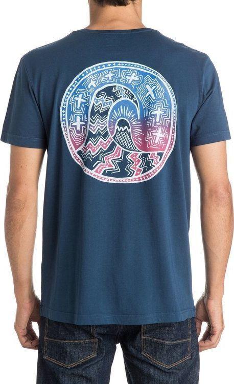 Quiksilver T-Shirt Quiksilver Tribal Coin Ss UQYZT03553-BRQ0 L 1