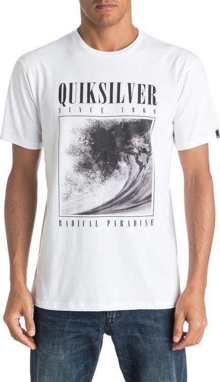 Quiksilver T-Shirt Quiksilver Bothside2 M tees UQYZT03808WBB0 S 1