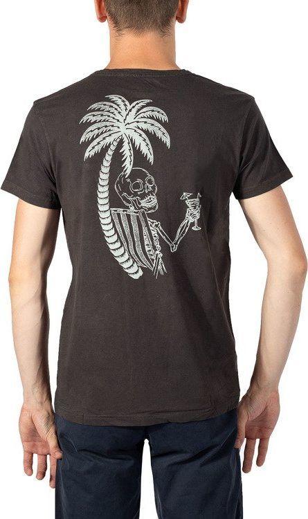 Quiksilver Koszulka męska Black Widow Id brązowa r. XL (UQYZT03581) 1