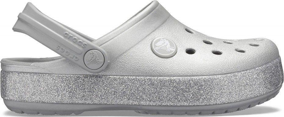 Crocs Buty Crocs Crocband Glitter Clog Jr 205936 30-31 1