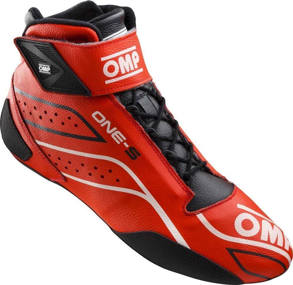 OMP Racing Buty rajdowe OMP ONE-S MY20 czerwone (homologacja FIA) 37 1