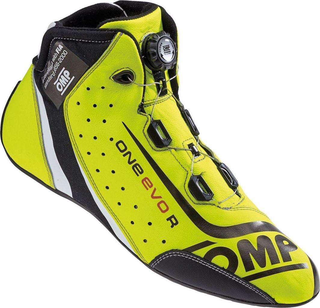 OMP Racing Buty OMP ONE EVO Formula R żółte (homologacja FIA) 45 1