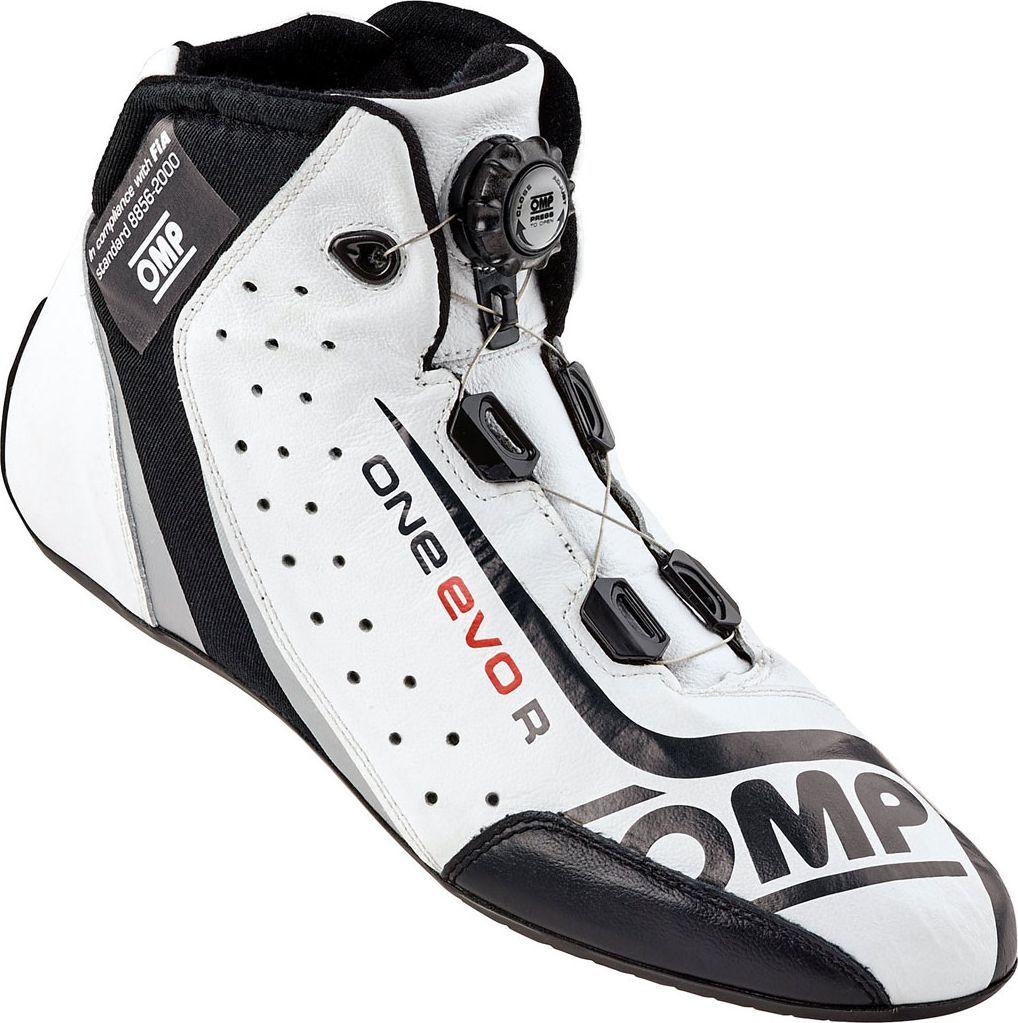OMP Racing Buty OMP ONE EVO Formula R białe (homologacja FIA) 44 1