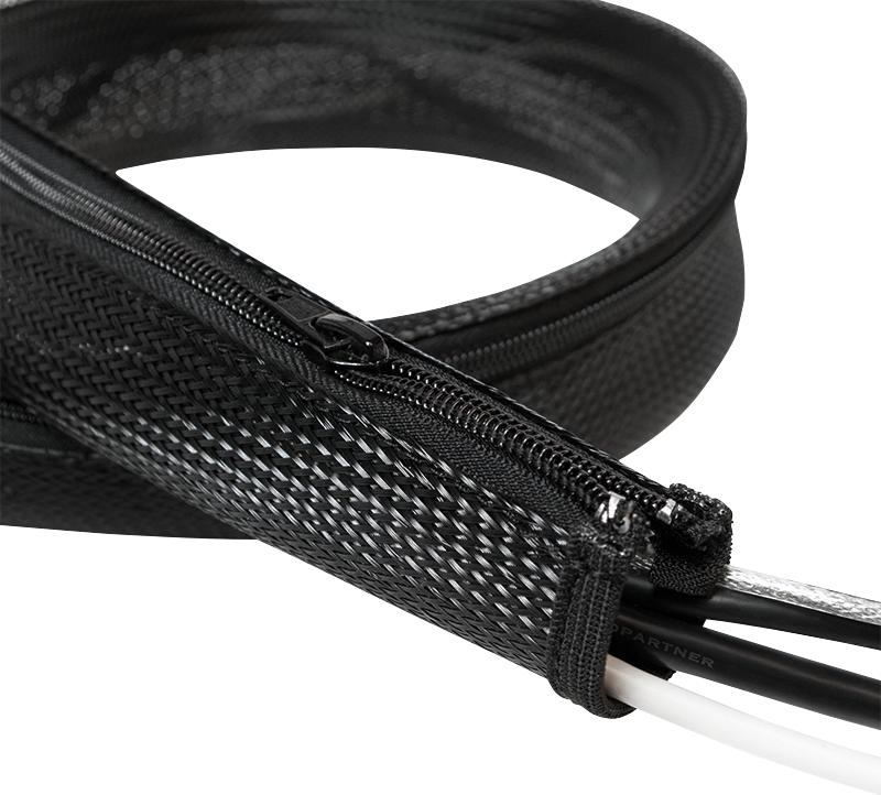 Organizer LogiLink elastyczny, z suwakiem 1m / 50mm (KAB0048) 1