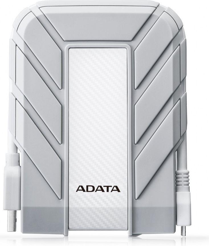 Dysk zewnętrzny ADATA HDD 1 TB Biały (AHD710A-1TU3-CWH) 1