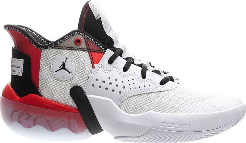 Jordan  Męskie buty do koszykówki Jordan React Elevation biel 47 1