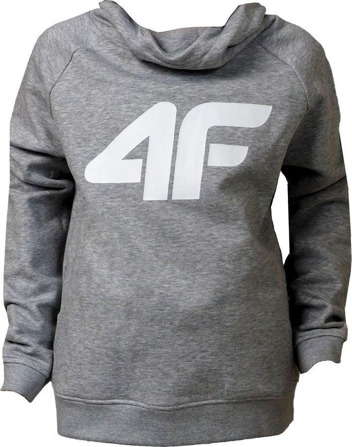 4f Bluza dla dziewczynki 4F szary melanż HJZ20 JBLD002B 25M : Rozmiar - 128cm 1