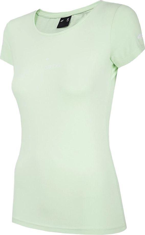 4f Koszulka damska 4F miętowa H4Z20 TSD012 47S : Rozmiar - S 1