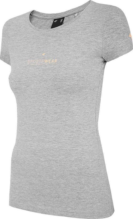 4f Koszulka damska 4F szary melanż H4Z20 TSD012 25M : Rozmiar - M 1