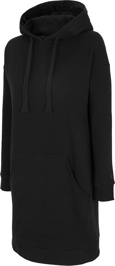 4f Sukienka damska 4F głęboka czerń H4Z20 SUDD011 20S : Rozmiar - XL 1