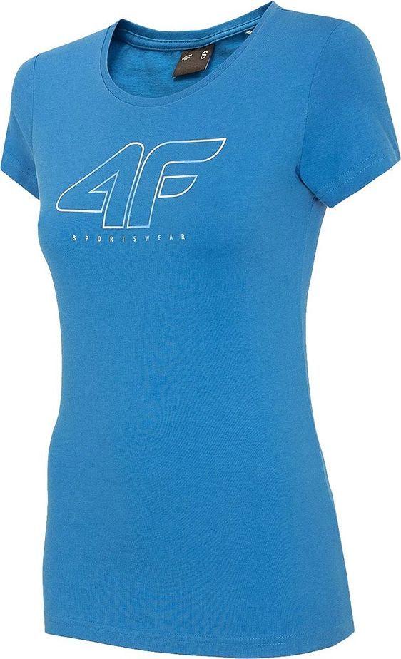 4f Koszulka damska 4F niebieska H4Z20 TSD022 33S : Rozmiar - S 1