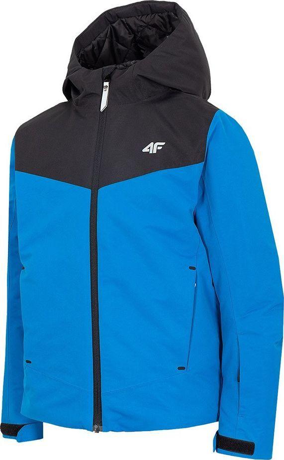 4f Kurtka narciarska dla chłopca 4F kobaltowa HJZ20 JKUMN001 36S : Rozmiar - 128cm 1