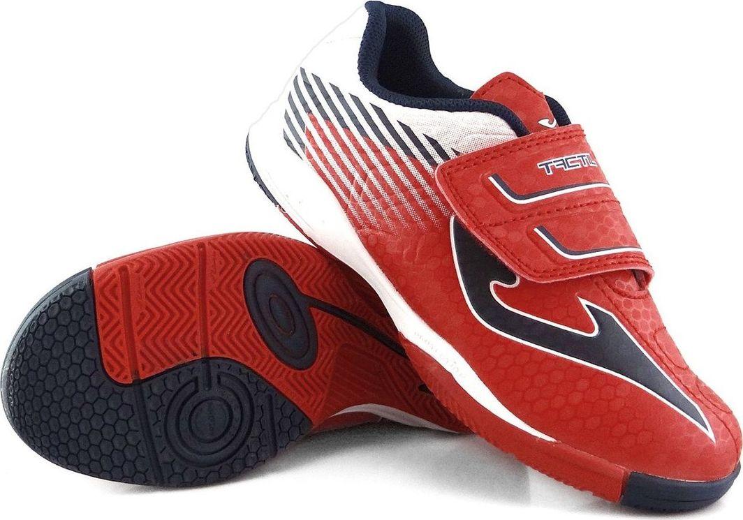 Joma Czerwone buty piłkarskie na halę Joma Tactil 806 Sala 28 1