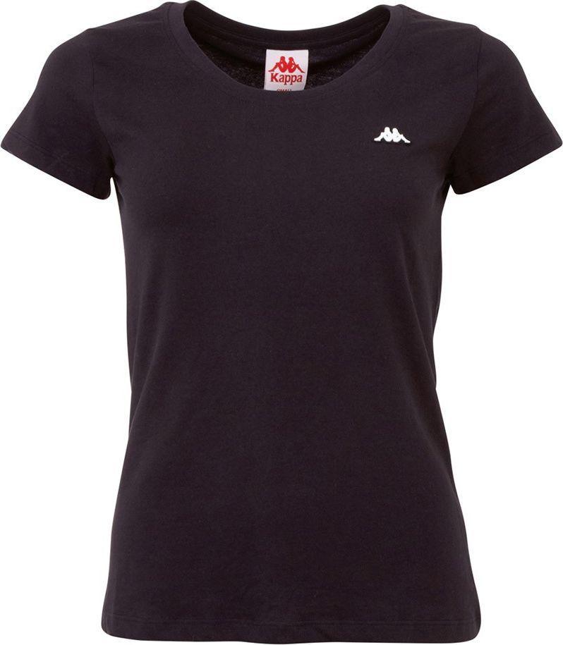 Kappa Koszulka damska Kappa Halina czarna 308000 19-4006 : Rozmiar - S 1