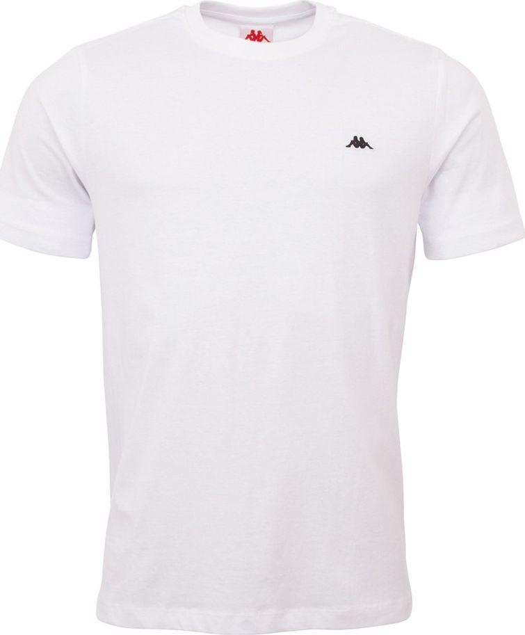 Kappa Koszulka męska Kappa Hauke biała 308010 11-0601 : Rozmiar - S 1