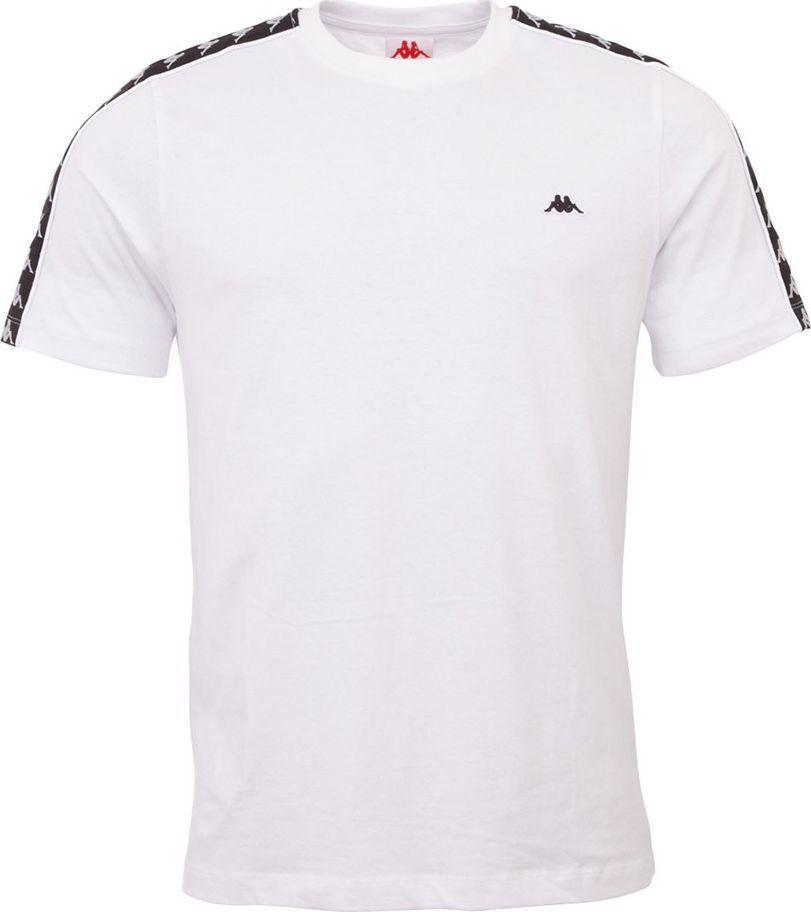 Kappa Koszulka męska Kappa Hanno biała 308011 11-0601 : Rozmiar - S 1