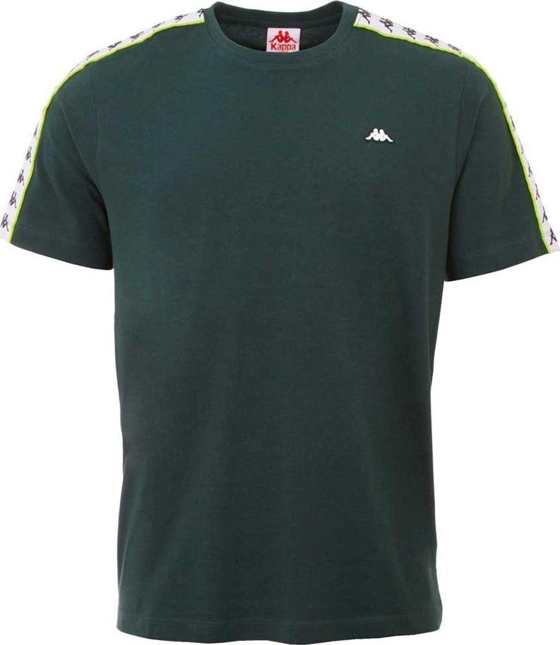 Kappa Koszulka męska Kappa Hanno ciemno-zielona 308011 19-5320 : Rozmiar - M 1