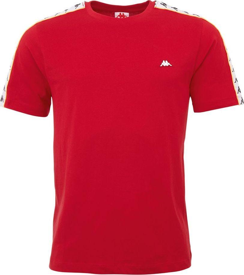 Kappa Koszulka męska Kappa Hanno czerwona 308011 19-1863 : Rozmiar - L 1