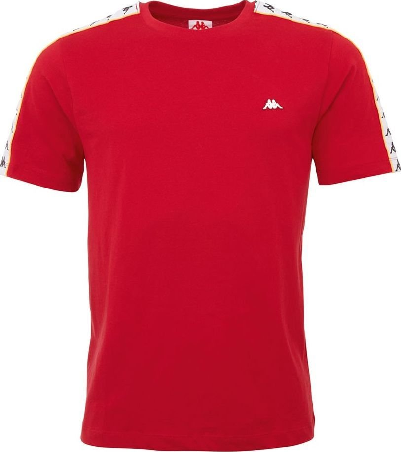 Kappa Koszulka męska Kappa Hanno czerwona 308011 19-1863 : Rozmiar - 2XL 1