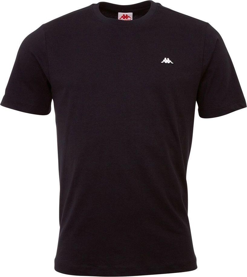 Kappa Koszulka męska Kappa Hauke czarna 308010 19-4006 : Rozmiar - 2XL 1