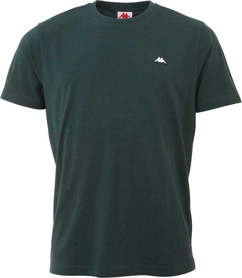 Kappa Koszulka męska Kappa Hauke ciemno-zielona 308010 19-5320 : Rozmiar - 2XL 1