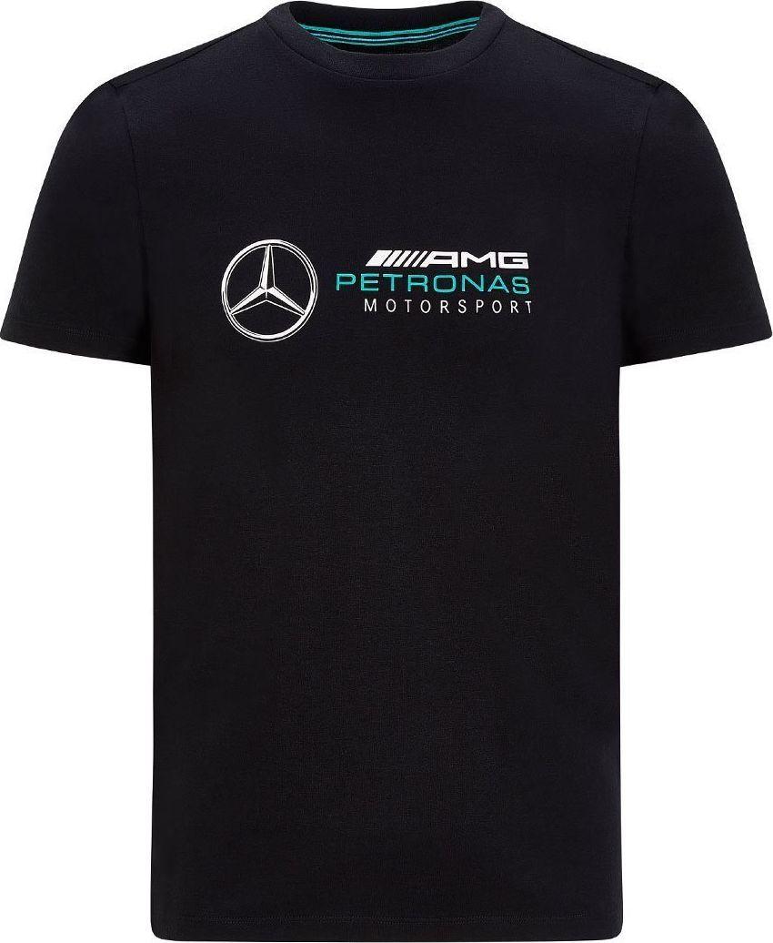 Mercedes AMG Petronas F1 Team Koszulka t-shirt męska Logo czarna Mercedes AMG F1 2020 L 1