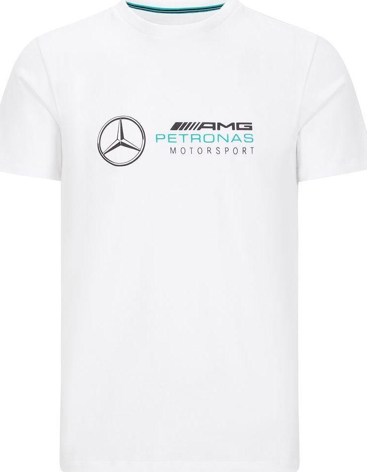 Mercedes AMG Petronas F1 Team Koszulka t-shirt męska Logo biała Mercedes AMG F1 2020 L 1